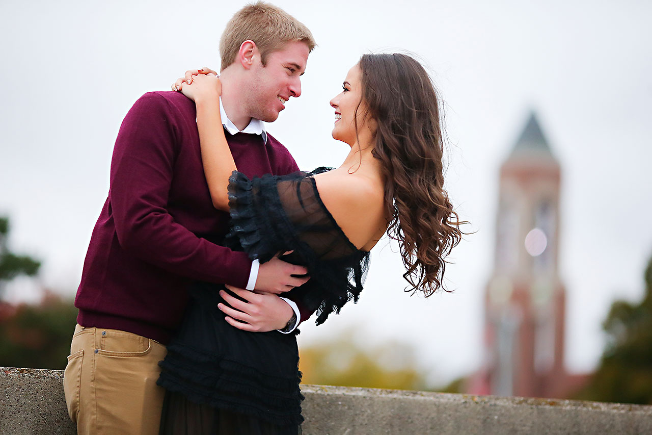 Hannah Ian Ball State Engagement Session 082