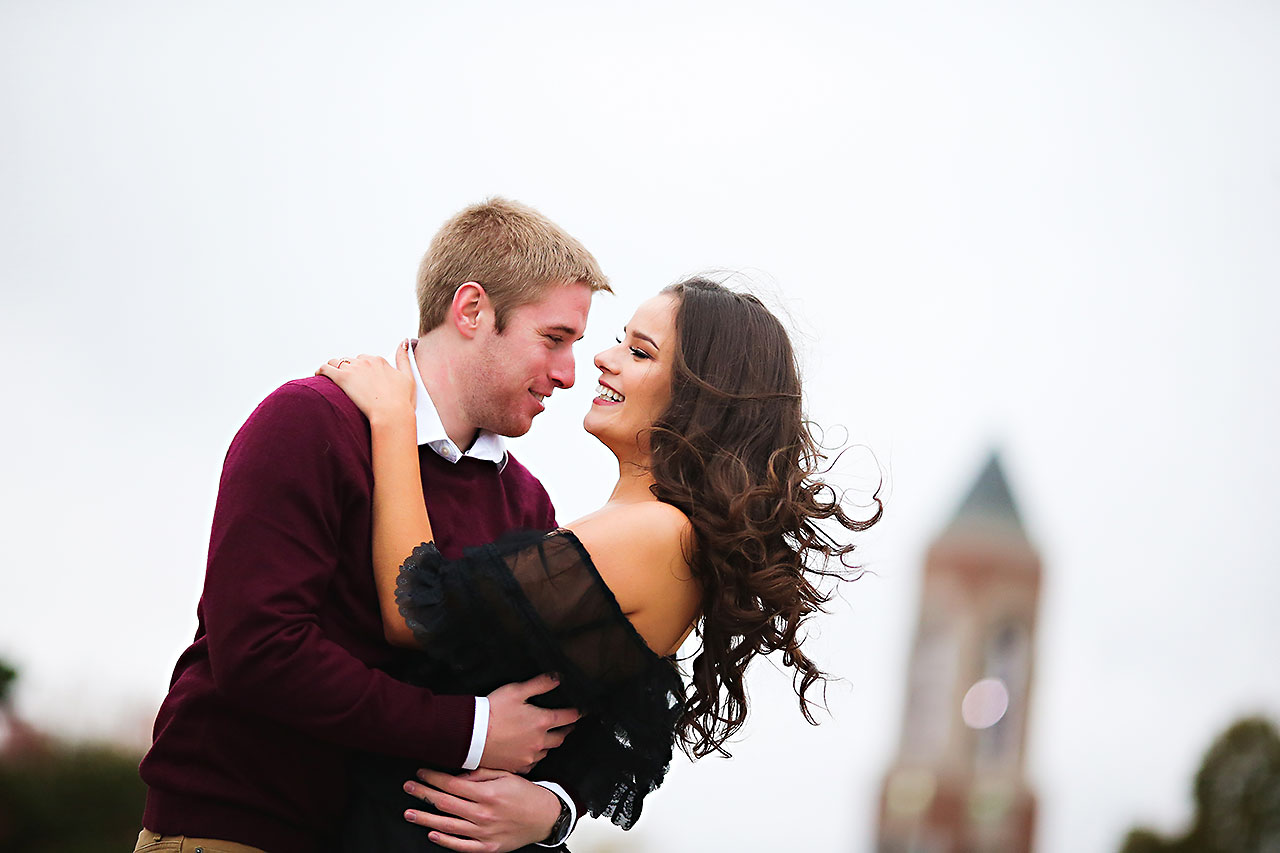 Hannah Ian Ball State Engagement Session 083