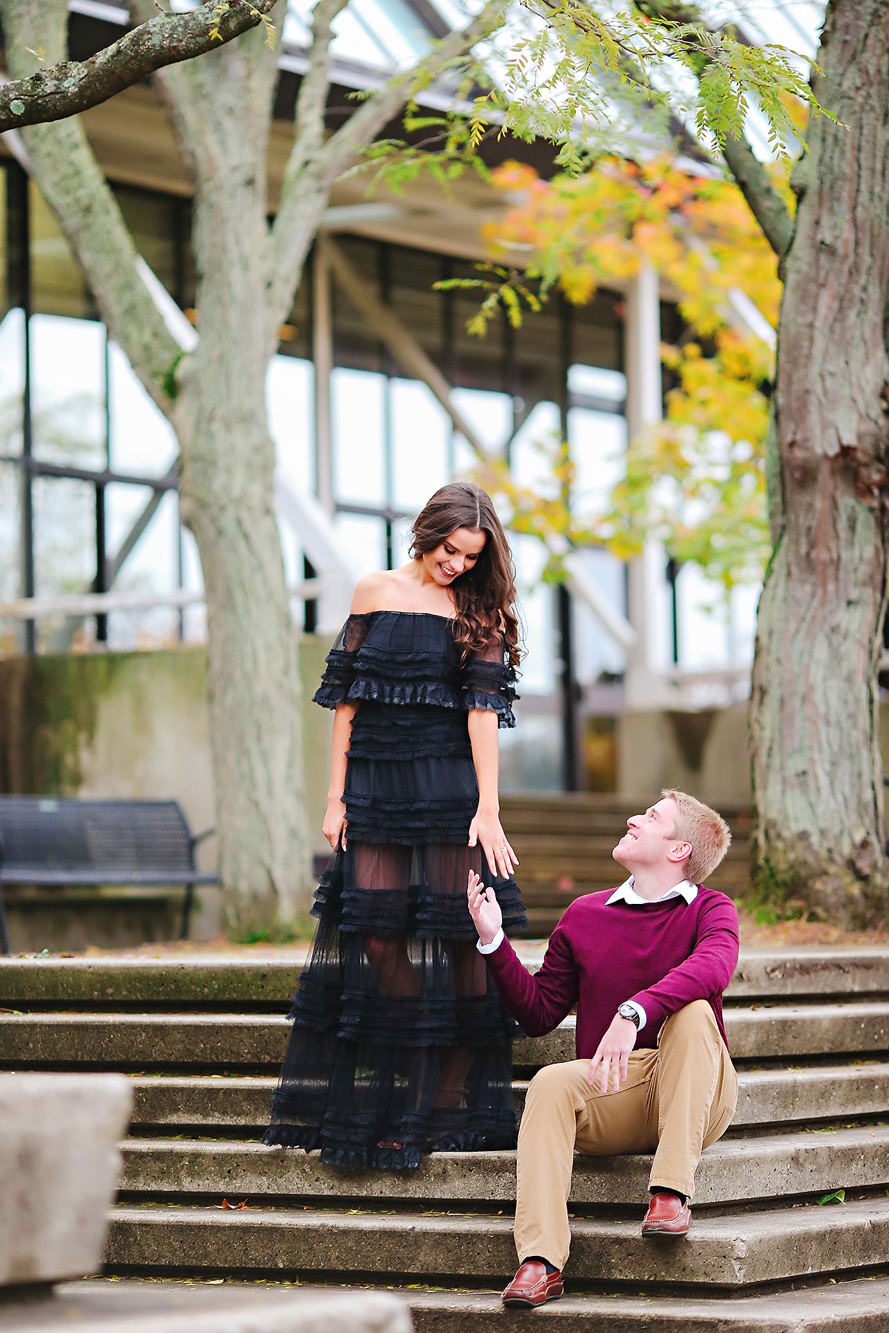 Hannah Ian Ball State Engagement Session 072