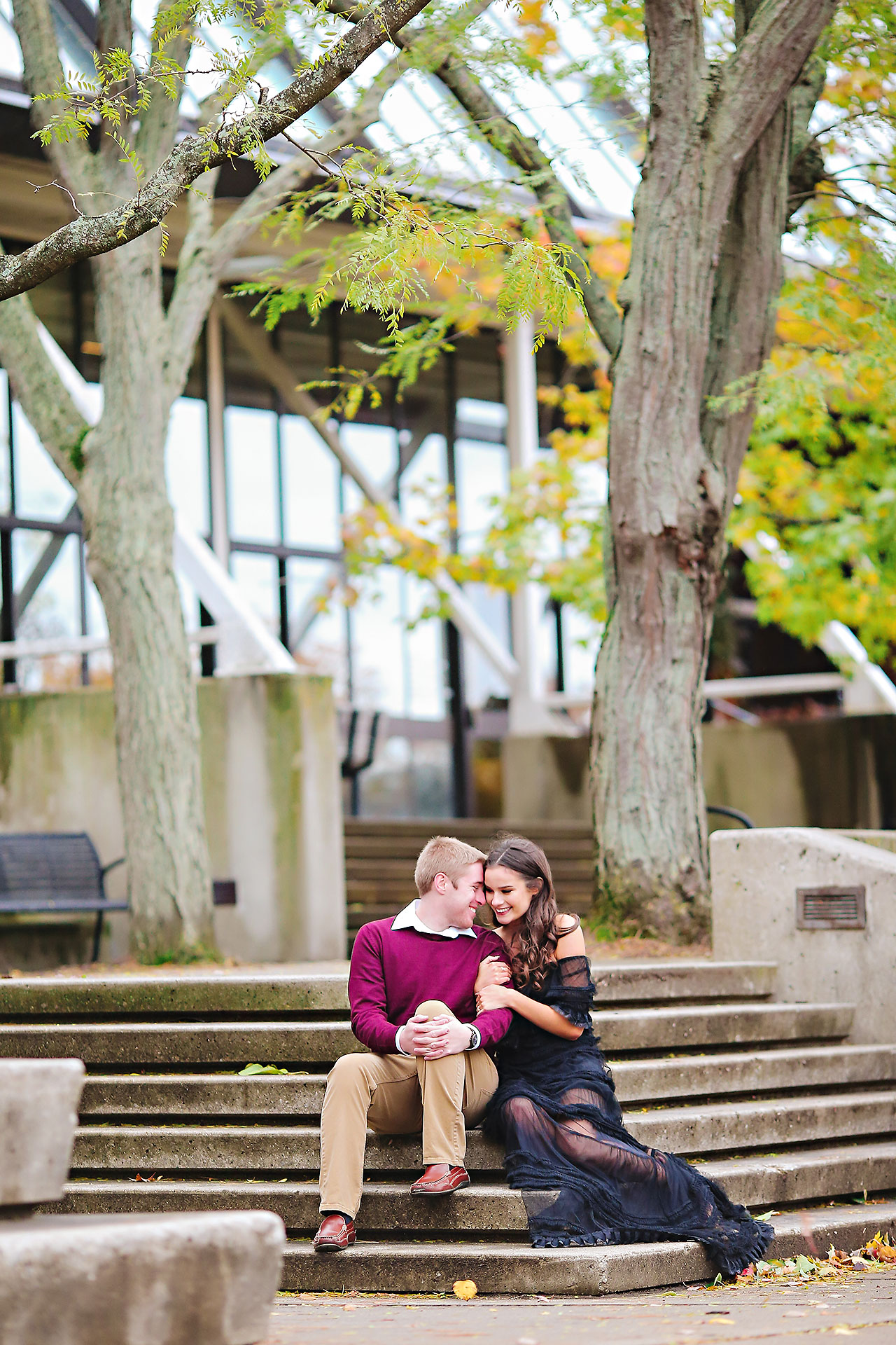 Hannah Ian Ball State Engagement Session 064