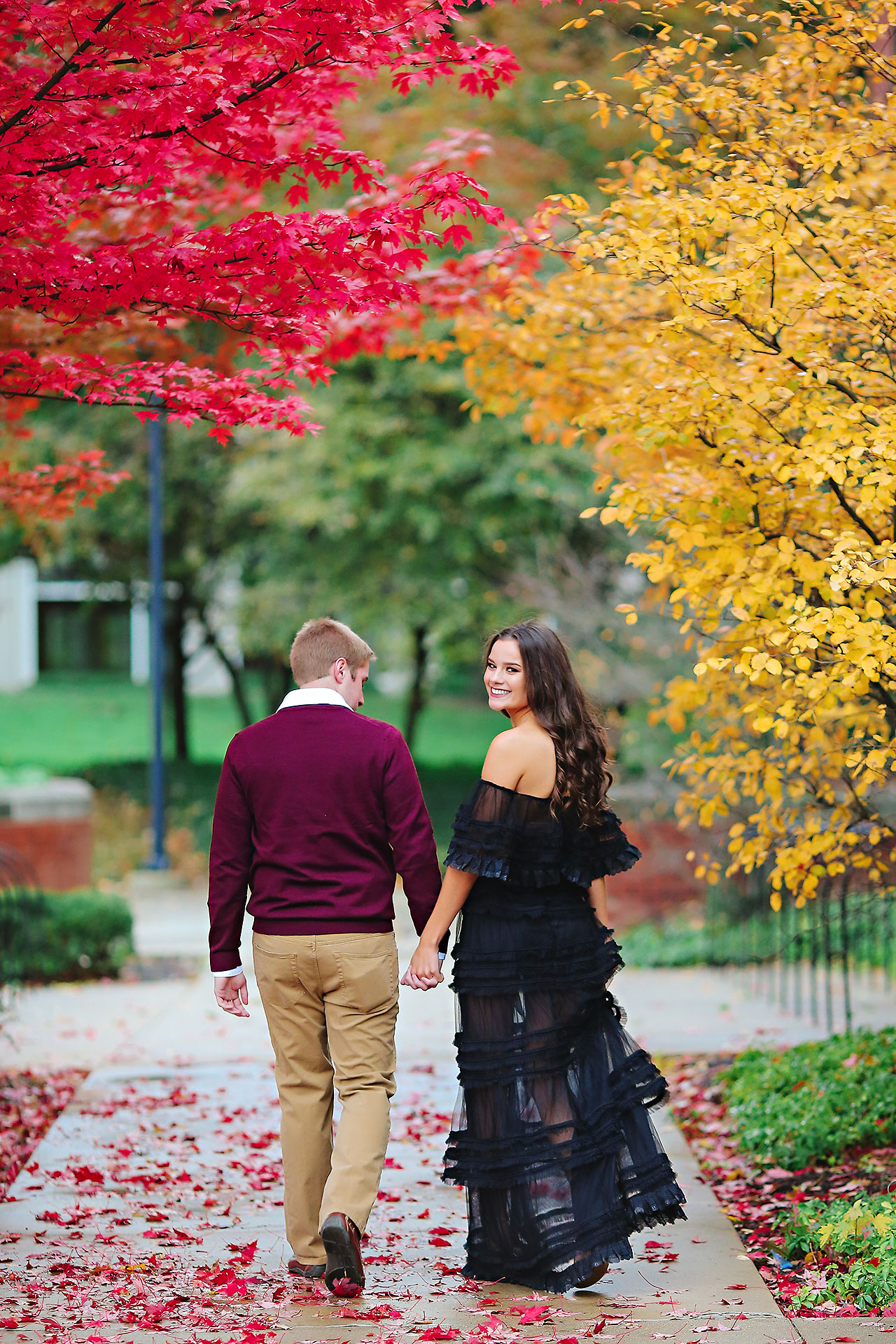Hannah Ian Ball State Engagement Session 059