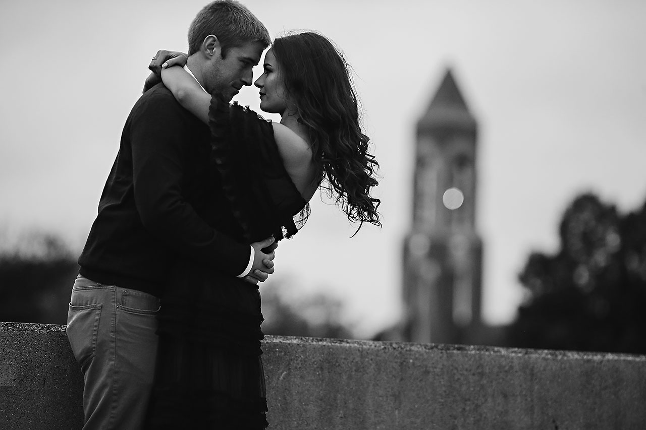 Hannah Ian Ball State Engagement Session 056