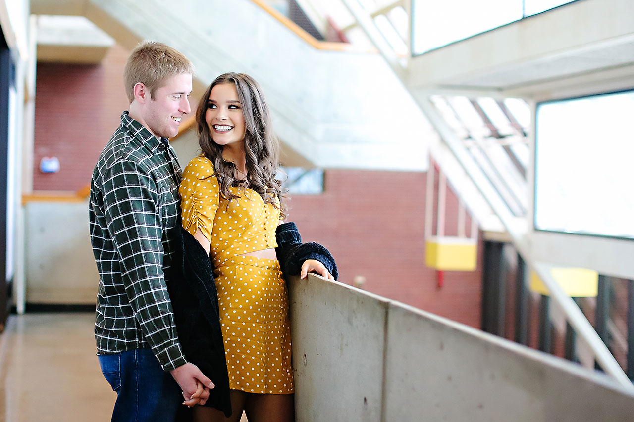 Hannah Ian Ball State Engagement Session 047