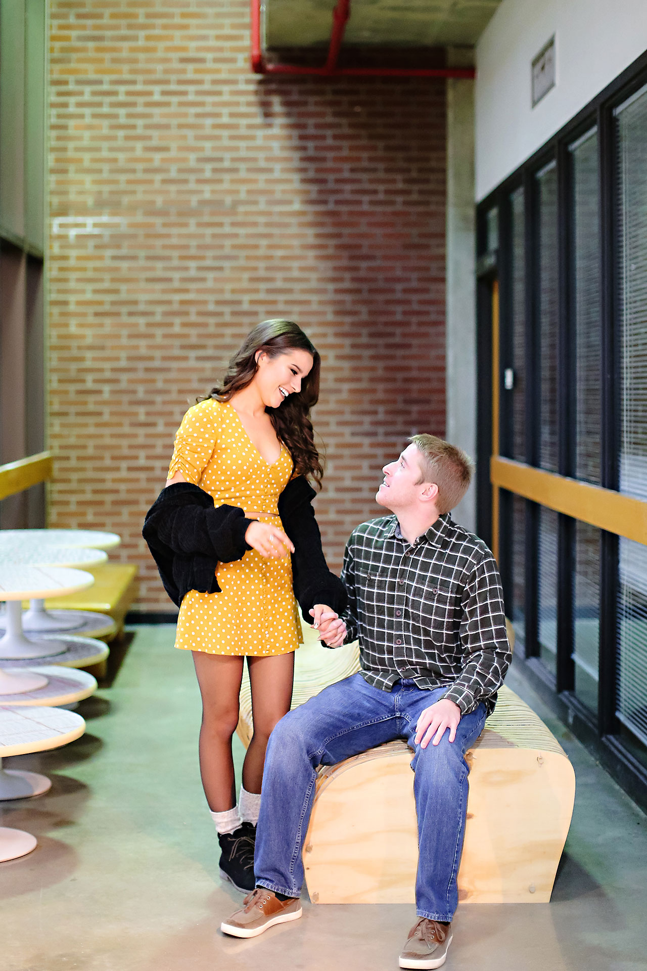 Hannah Ian Ball State Engagement Session 019