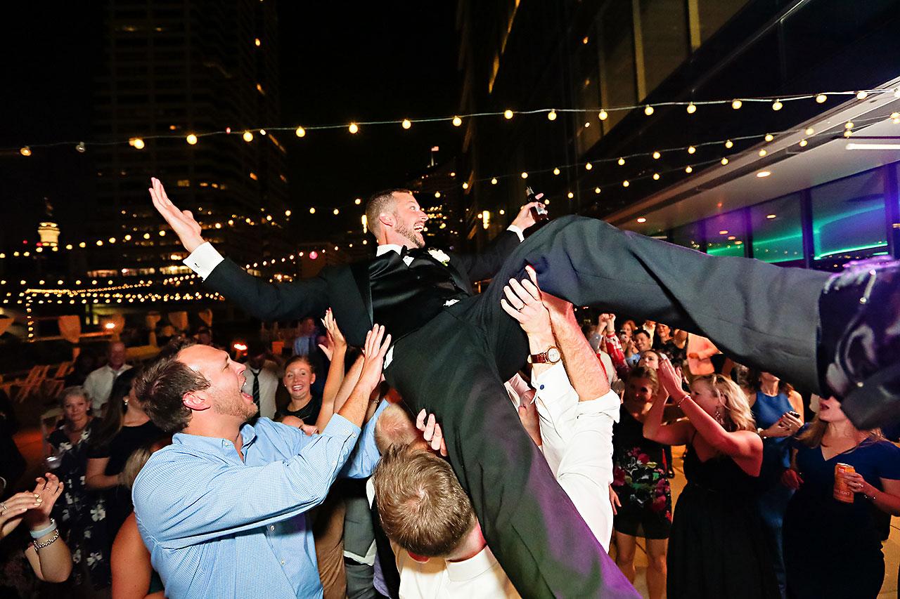 Erika Scott Regions Tower Indianapolis Wedding 383