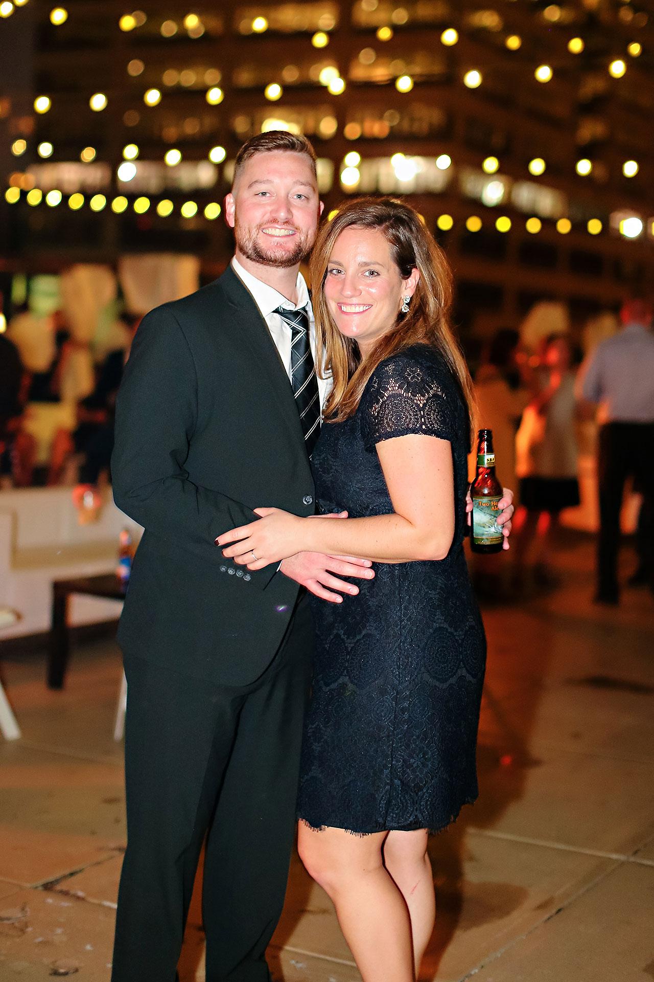 Erika Scott Regions Tower Indianapolis Wedding 376