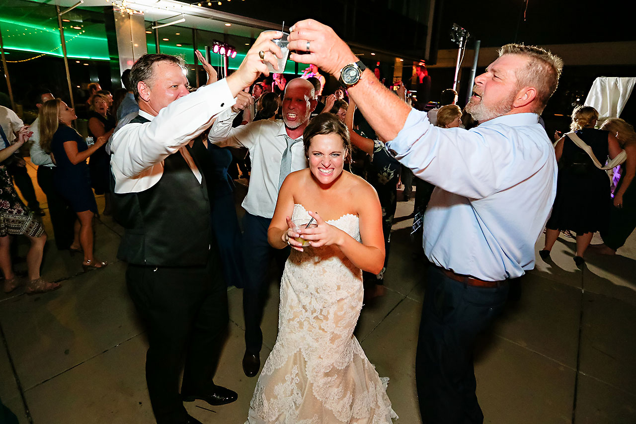 Erika Scott Regions Tower Indianapolis Wedding 373