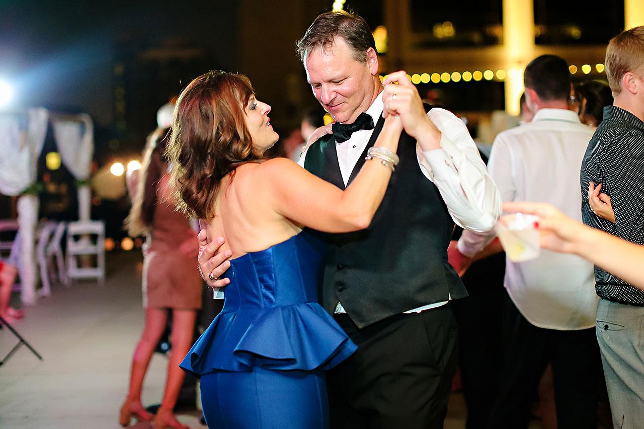Erika Scott Regions Tower Indianapolis Wedding 375