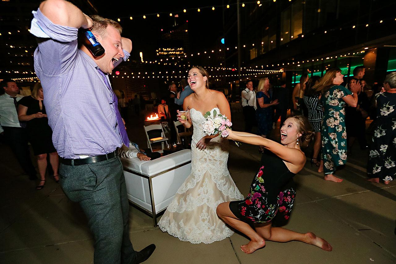 Erika Scott Regions Tower Indianapolis Wedding 370