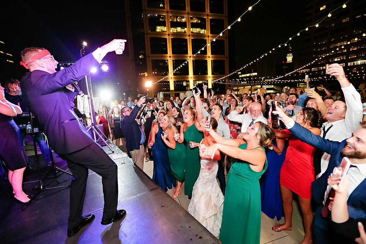 Erika Scott Regions Tower Indianapolis Wedding 367