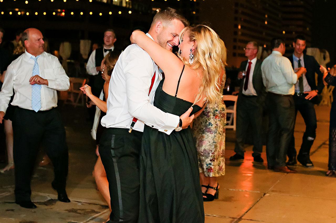 Erika Scott Regions Tower Indianapolis Wedding 348