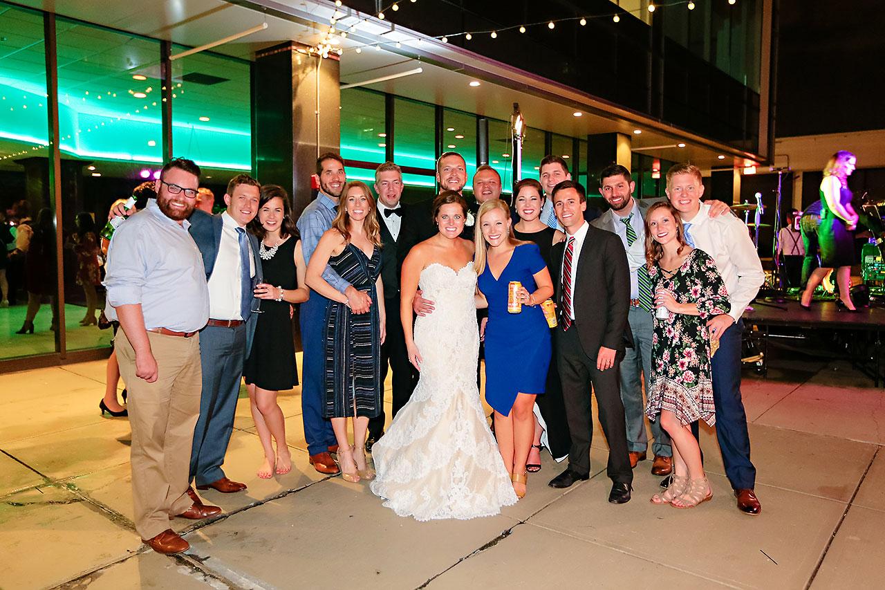 Erika Scott Regions Tower Indianapolis Wedding 339