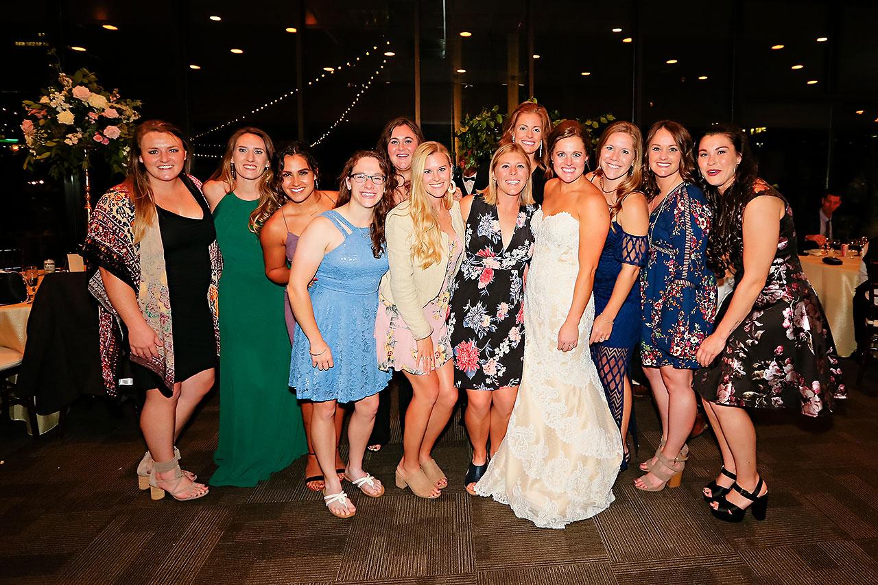 Erika Scott Regions Tower Indianapolis Wedding 336