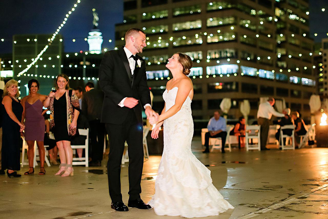Erika Scott Regions Tower Indianapolis Wedding 330