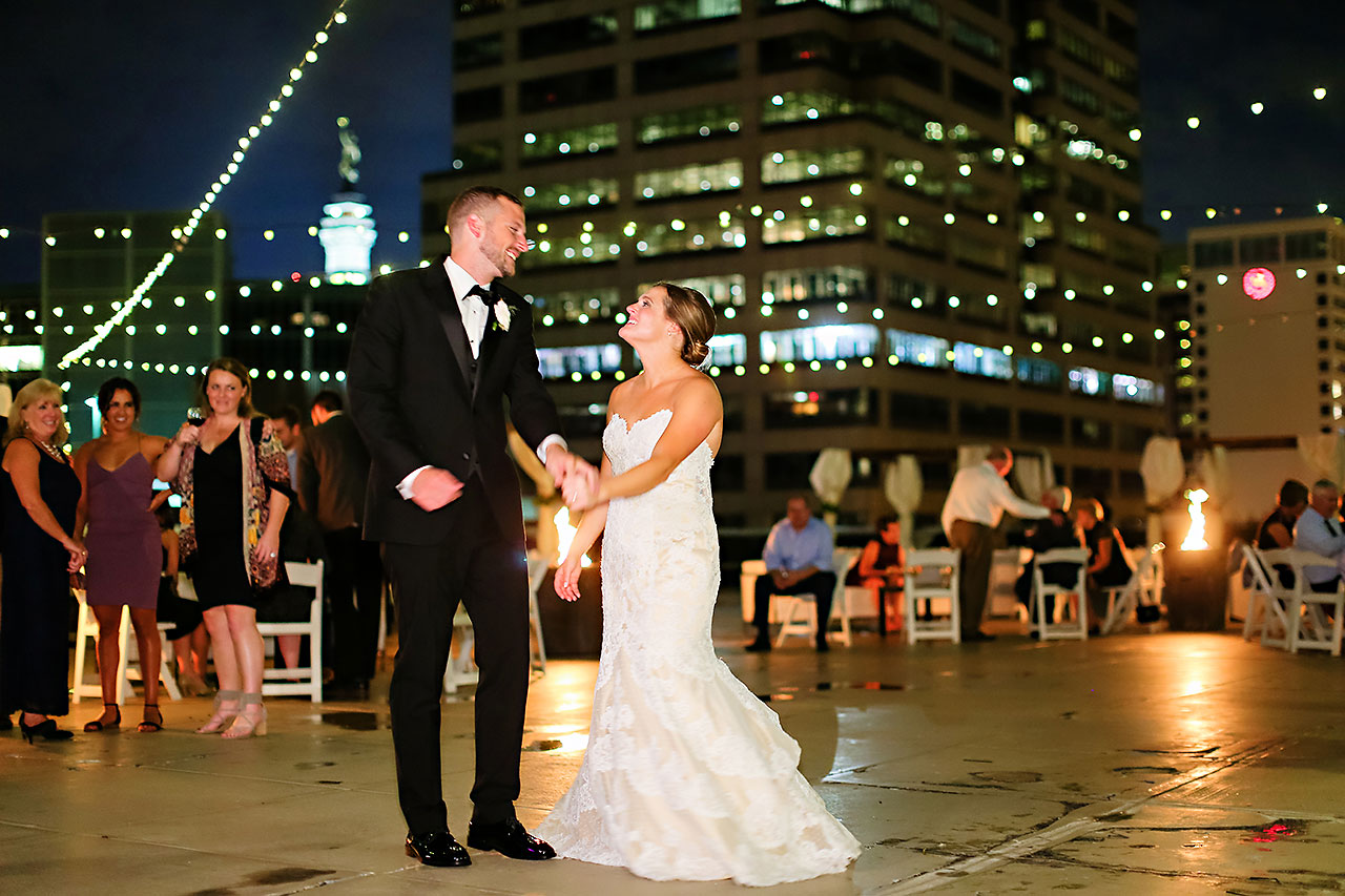 Erika Scott Regions Tower Indianapolis Wedding 328