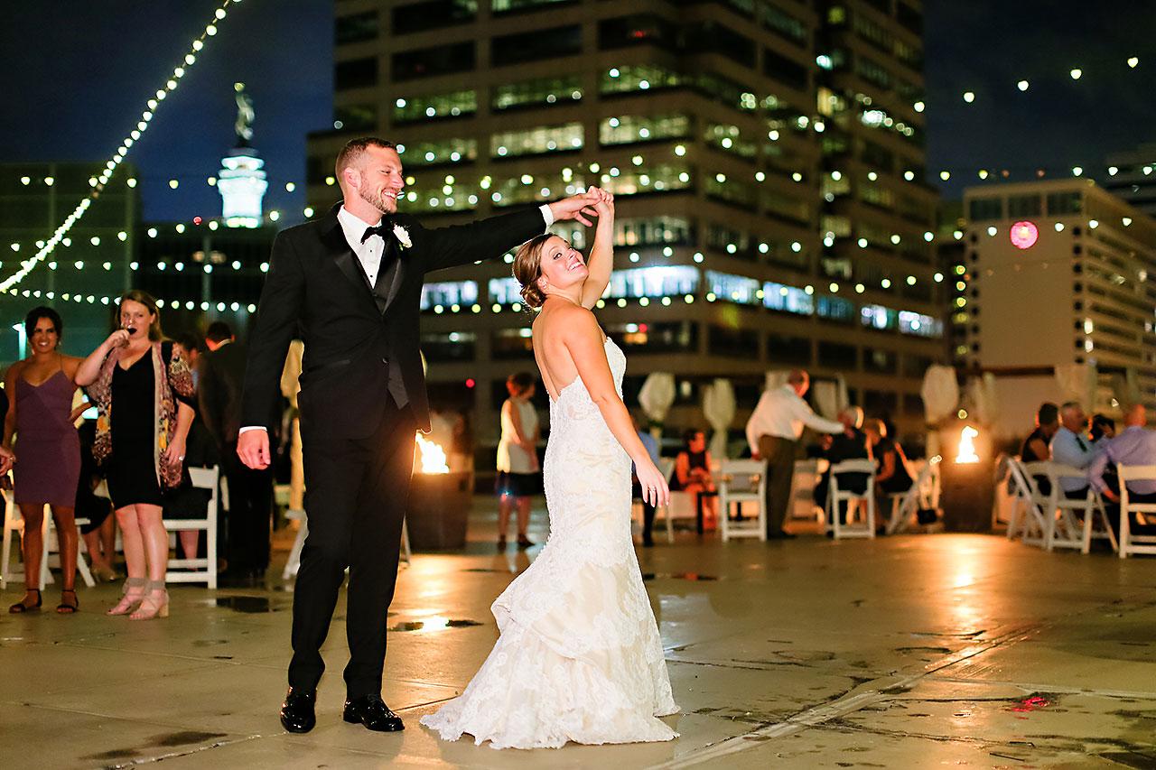 Erika Scott Regions Tower Indianapolis Wedding 326
