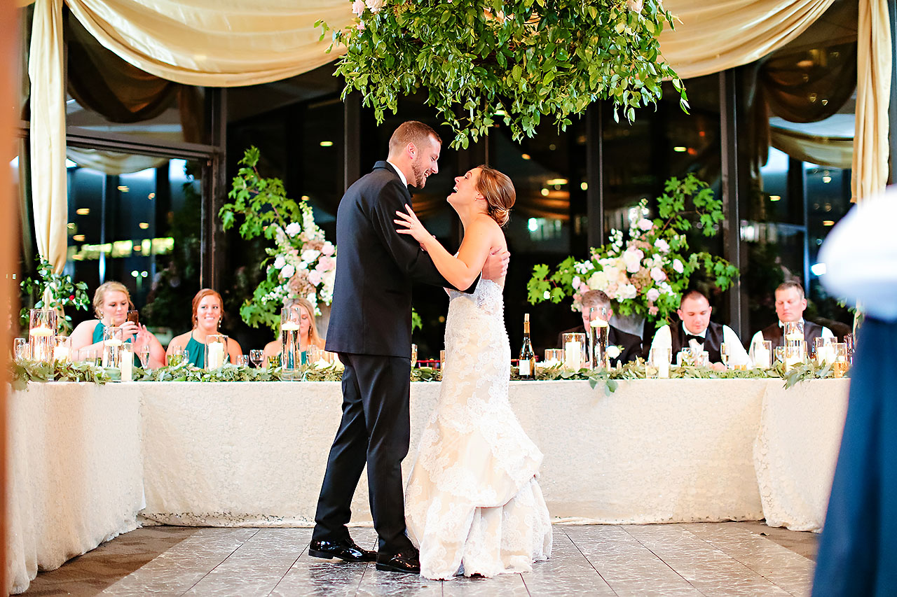Erika Scott Regions Tower Indianapolis Wedding 306