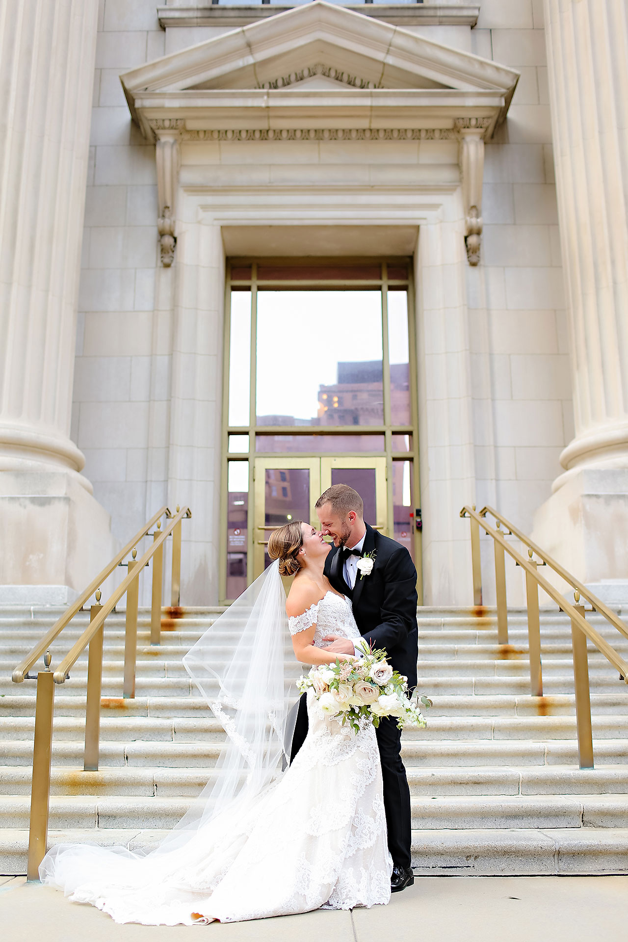Erika Scott Regions Tower Indianapolis Wedding 217