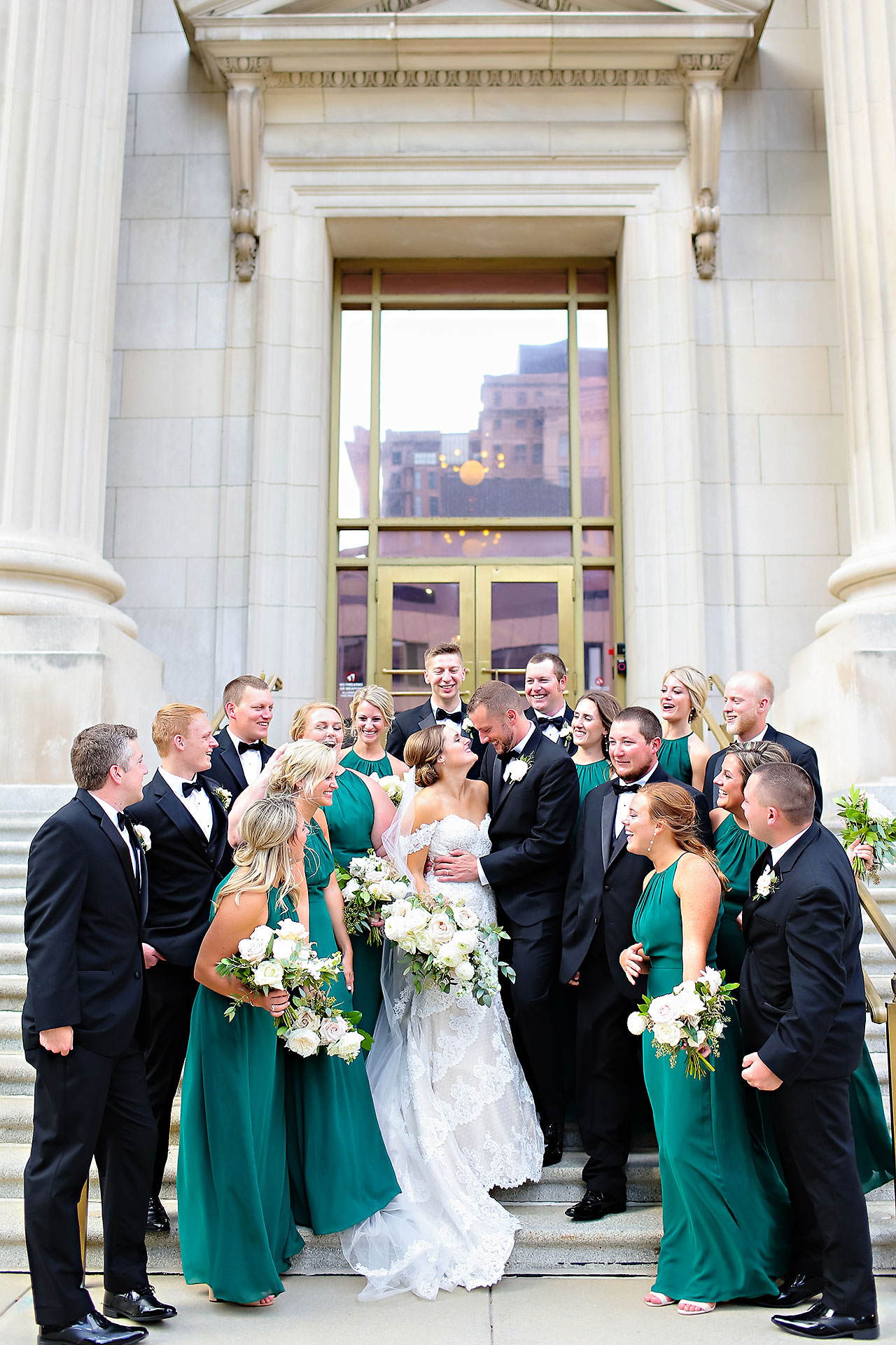 Erika Scott Regions Tower Indianapolis Wedding 215