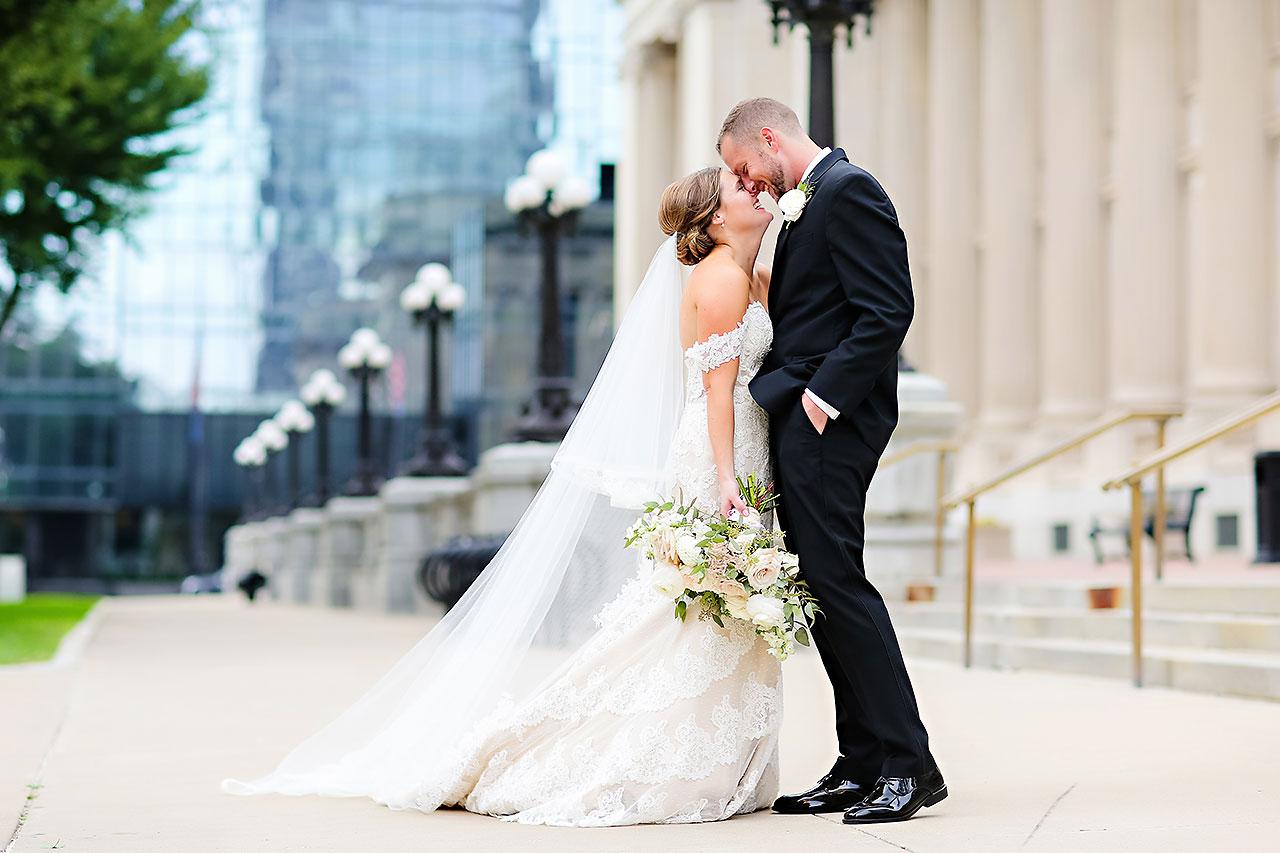 Erika Scott Regions Tower Indianapolis Wedding 212