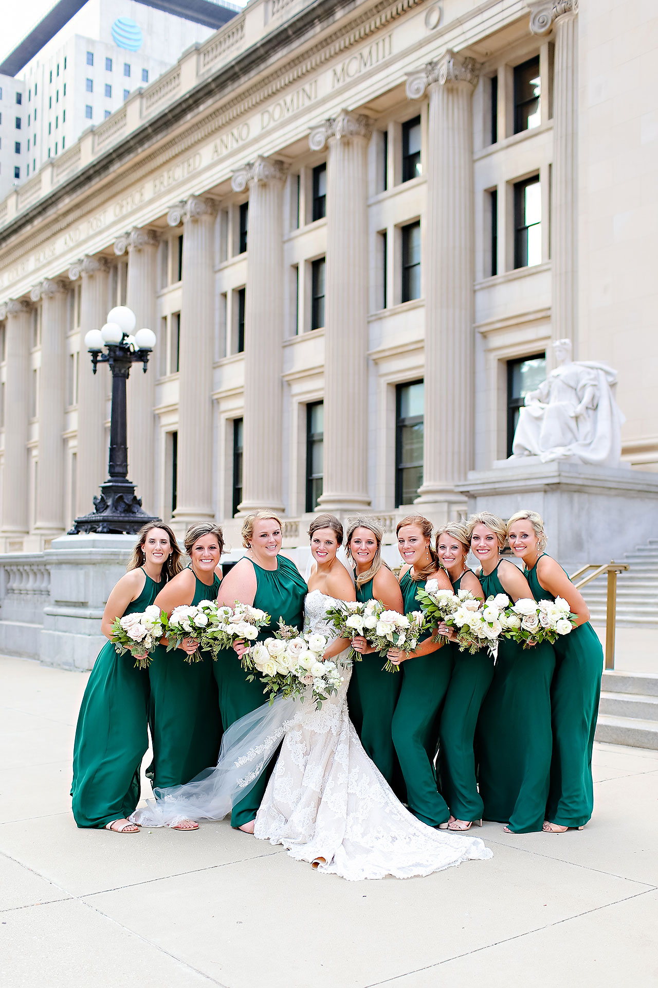 Erika Scott Regions Tower Indianapolis Wedding 213