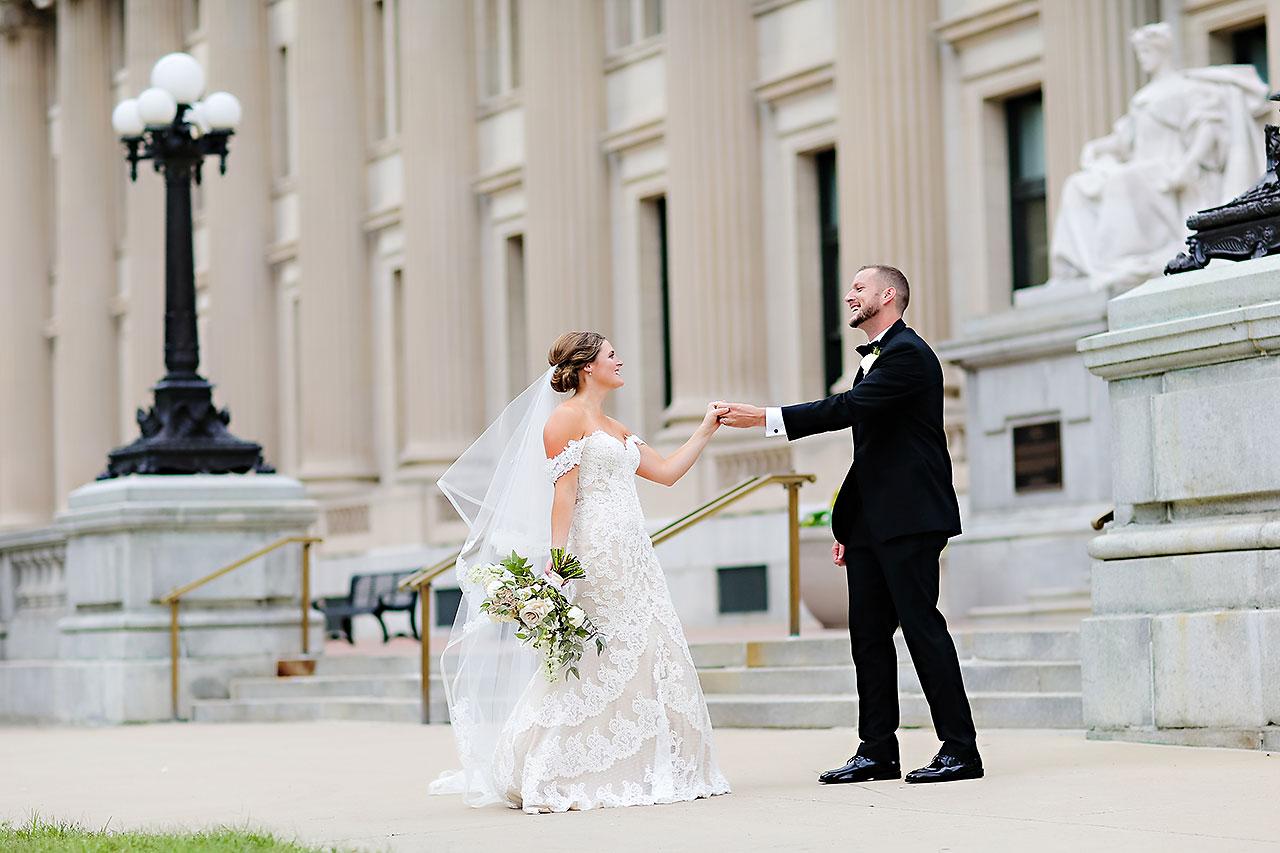 Erika Scott Regions Tower Indianapolis Wedding 209