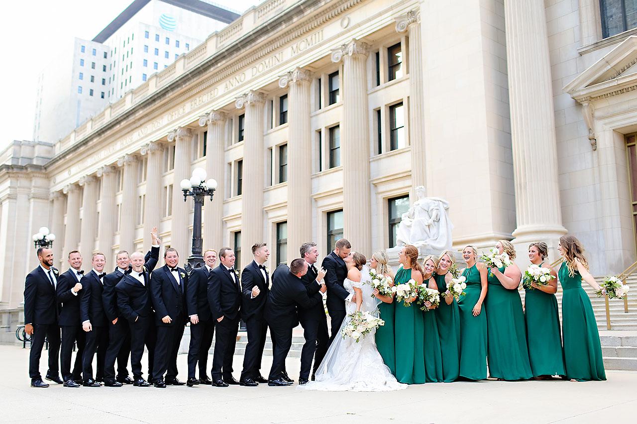 Erika Scott Regions Tower Indianapolis Wedding 210