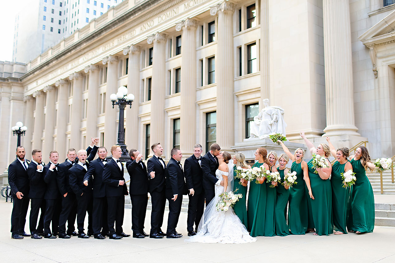 Erika Scott Regions Tower Indianapolis Wedding 207