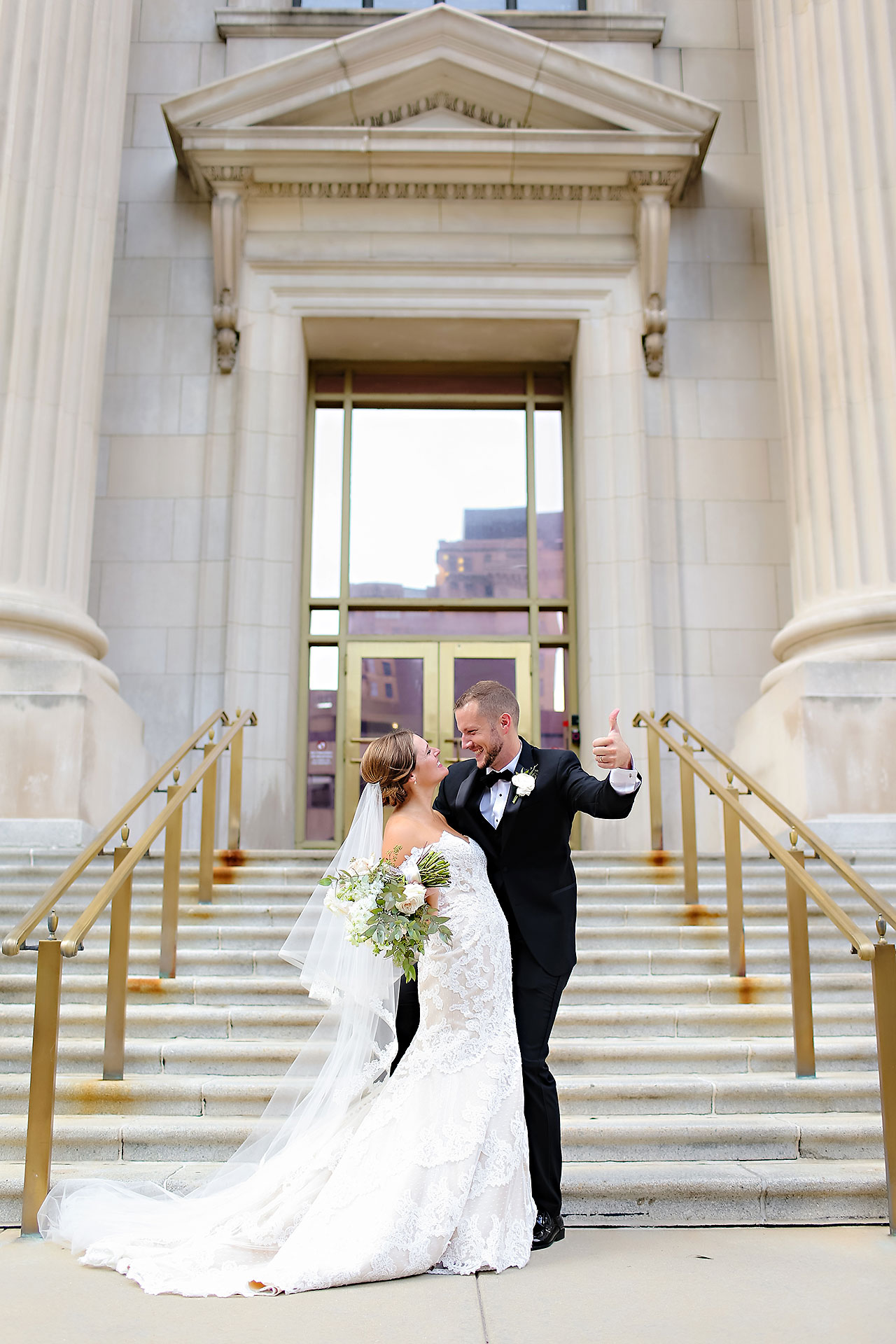 Erika Scott Regions Tower Indianapolis Wedding 206