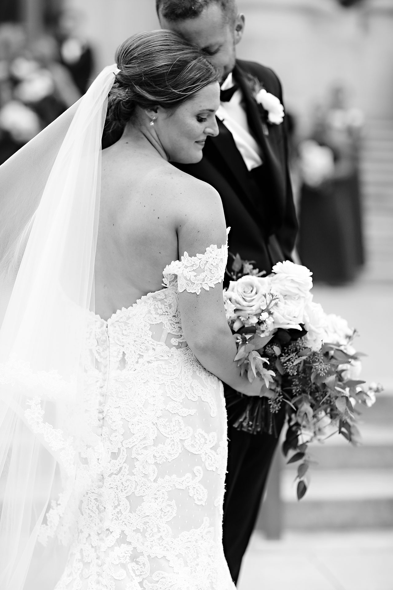 Erika Scott Regions Tower Indianapolis Wedding 200