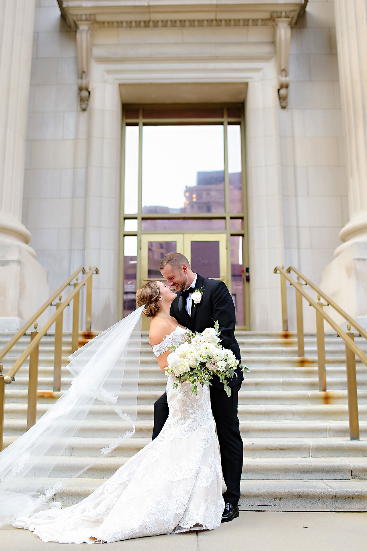 Erika Scott Regions Tower Indianapolis Wedding 188