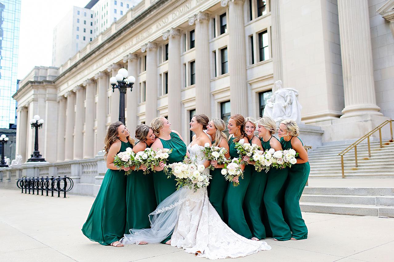 Erika Scott Regions Tower Indianapolis Wedding 186