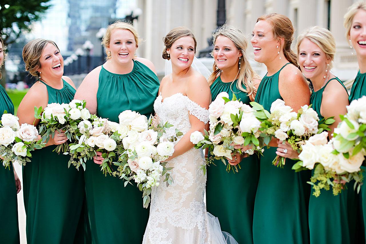 Erika Scott Regions Tower Indianapolis Wedding 184
