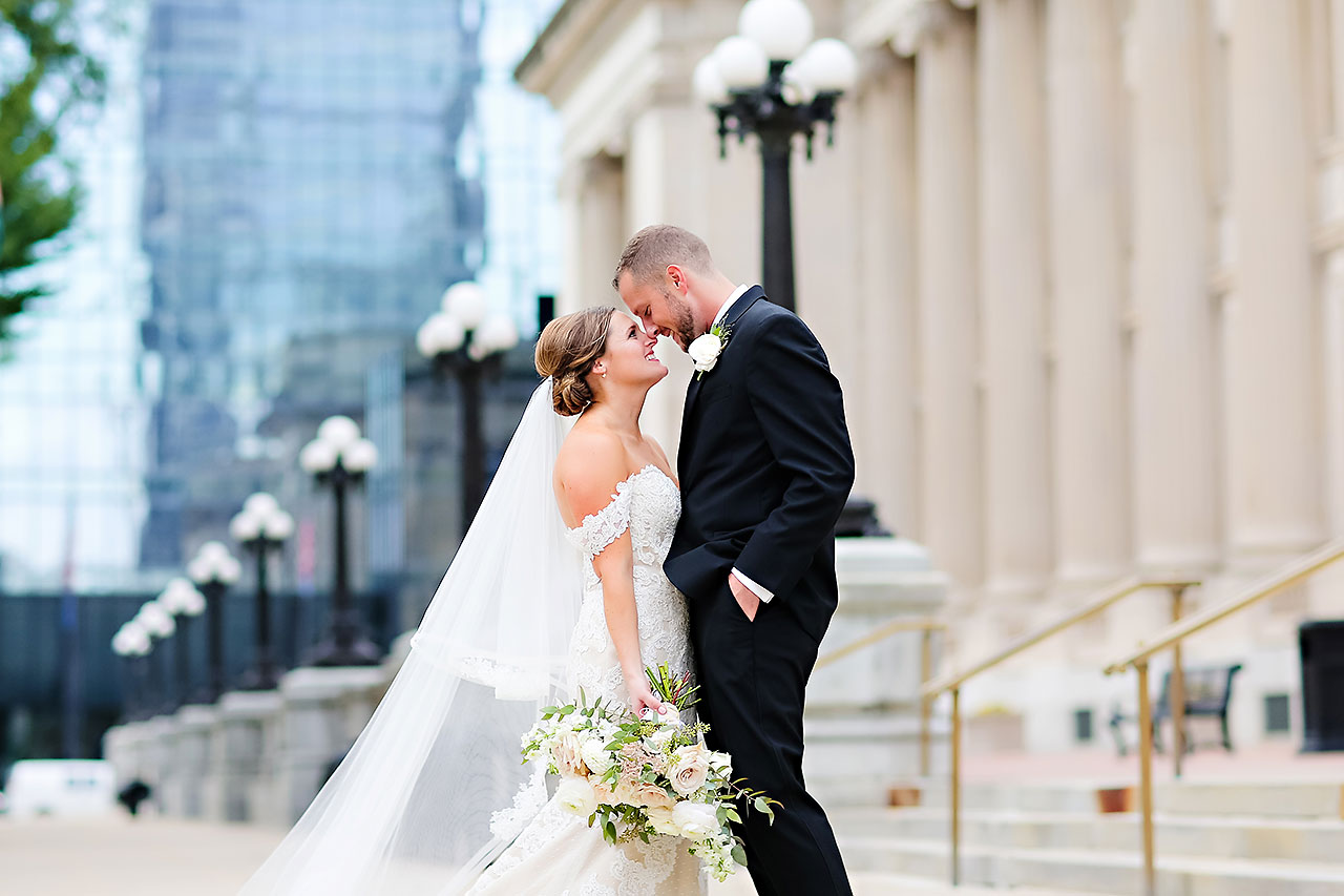 Erika Scott Regions Tower Indianapolis Wedding 182