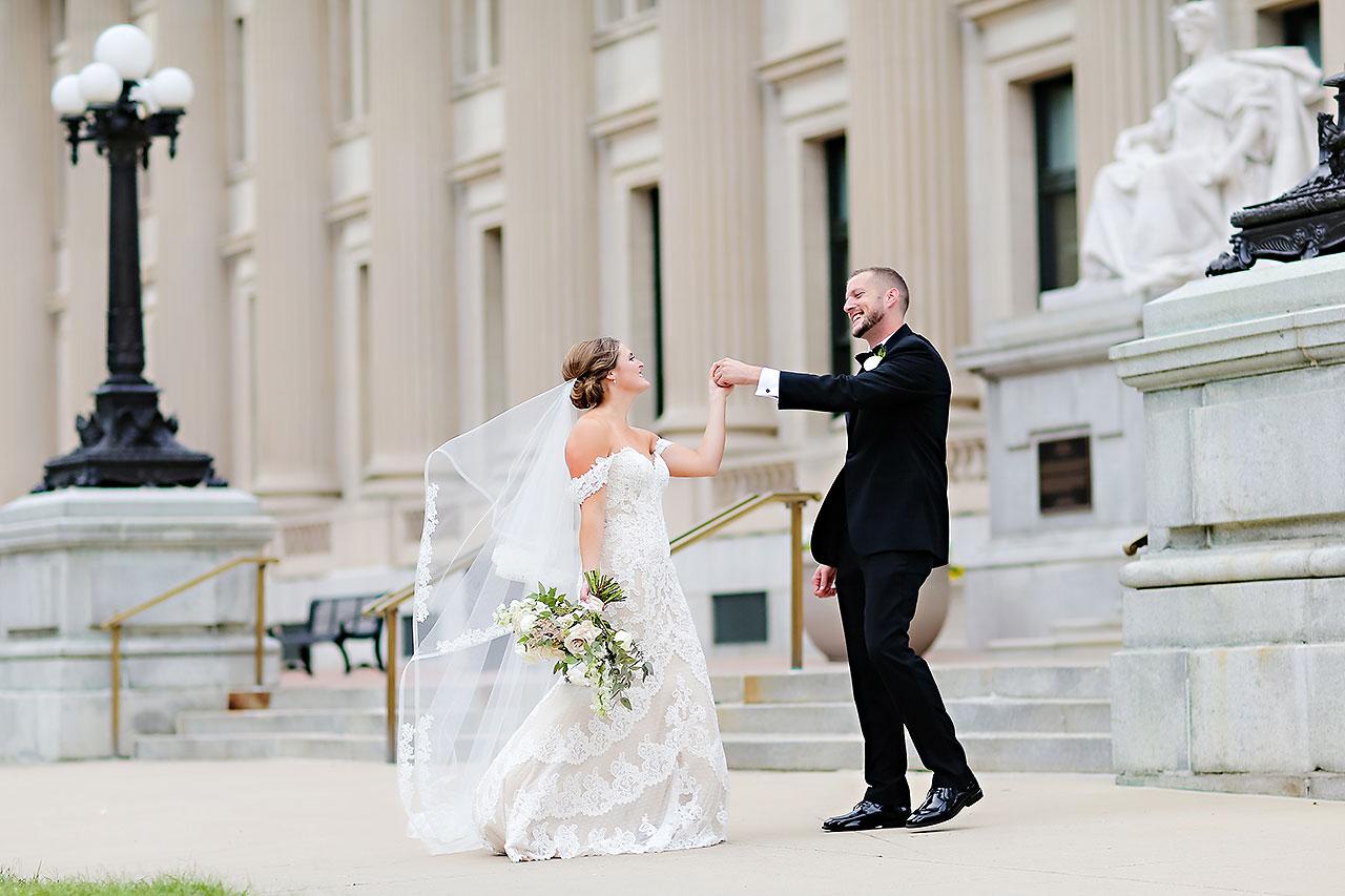 Erika Scott Regions Tower Indianapolis Wedding 179