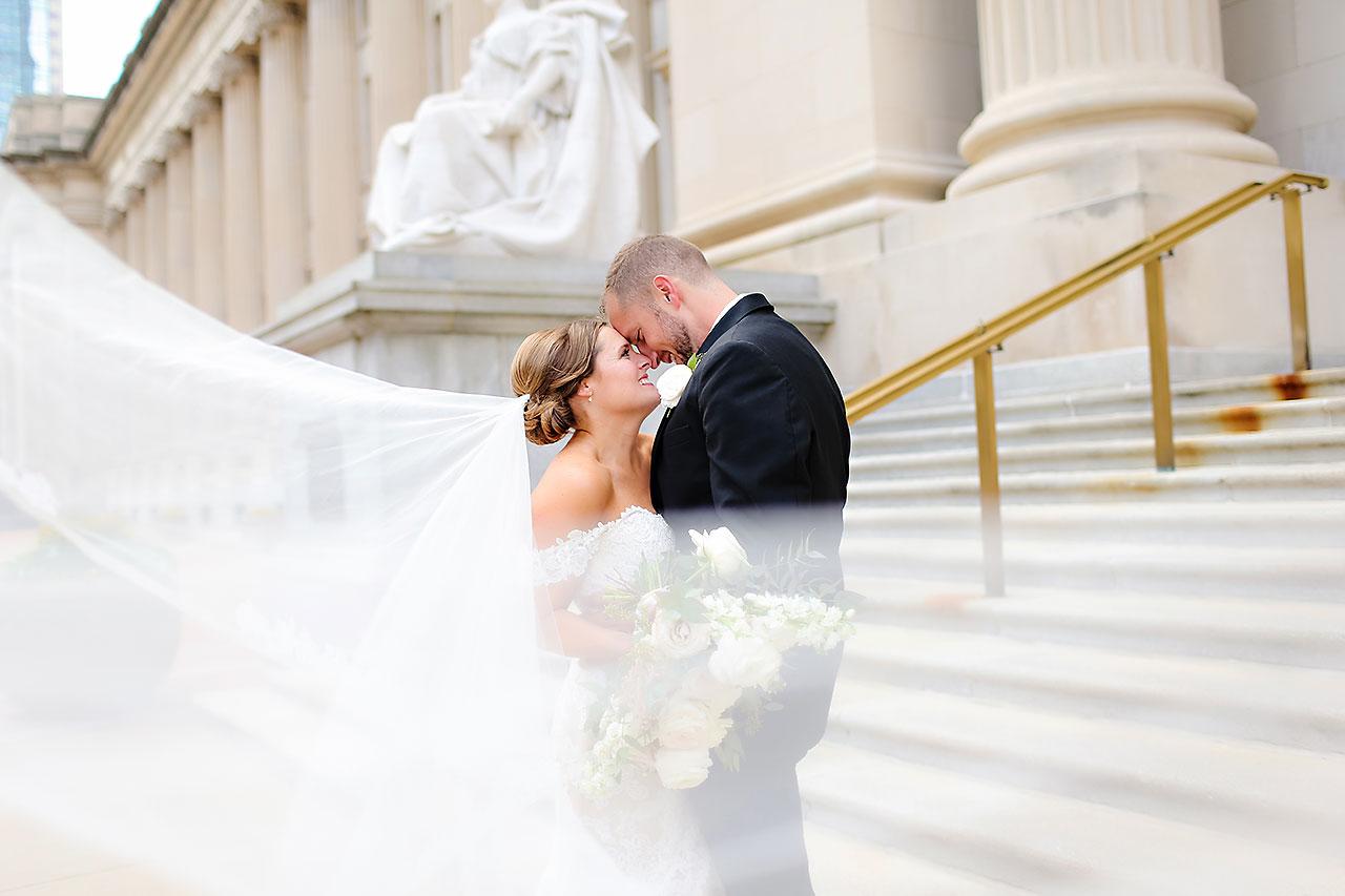 Erika Scott Regions Tower Indianapolis Wedding 180