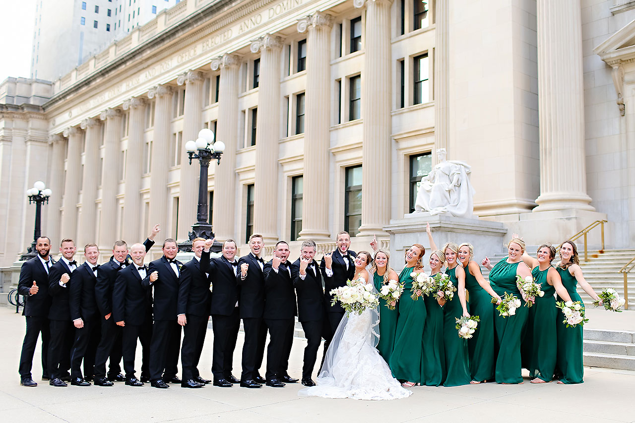 Erika Scott Regions Tower Indianapolis Wedding 181
