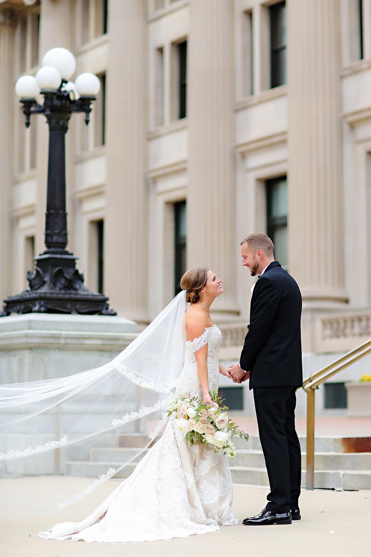 Erika Scott Regions Tower Indianapolis Wedding 175