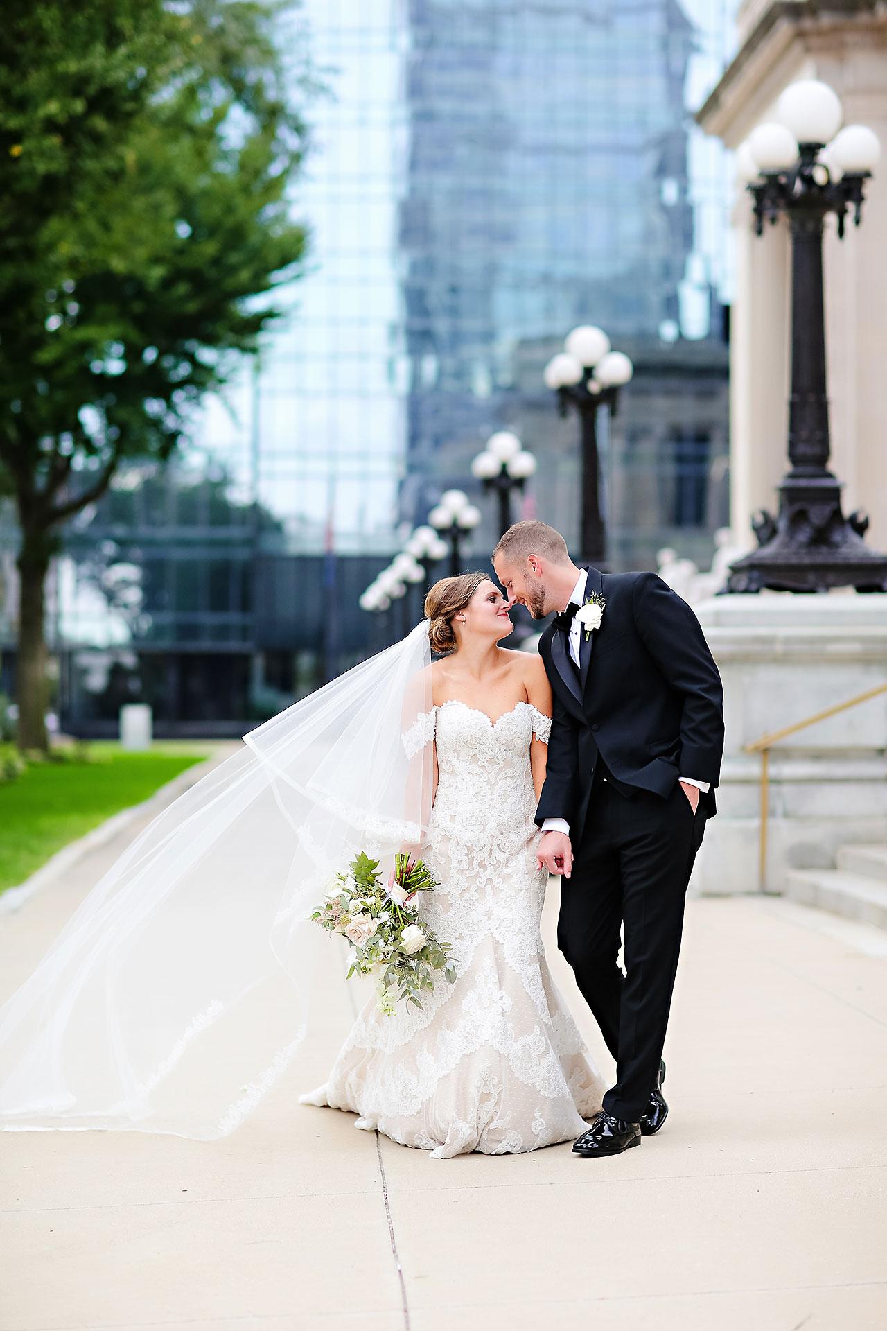 Erika Scott Regions Tower Indianapolis Wedding 173