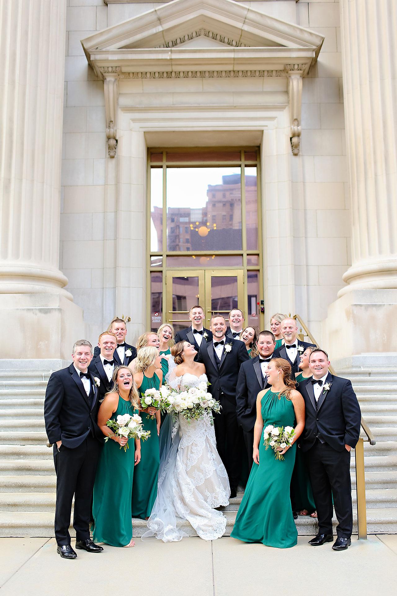 Erika Scott Regions Tower Indianapolis Wedding 166