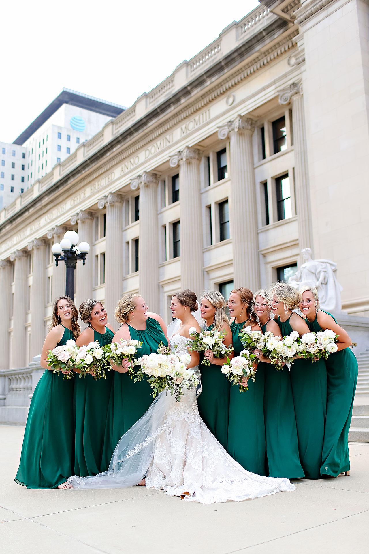 Erika Scott Regions Tower Indianapolis Wedding 161