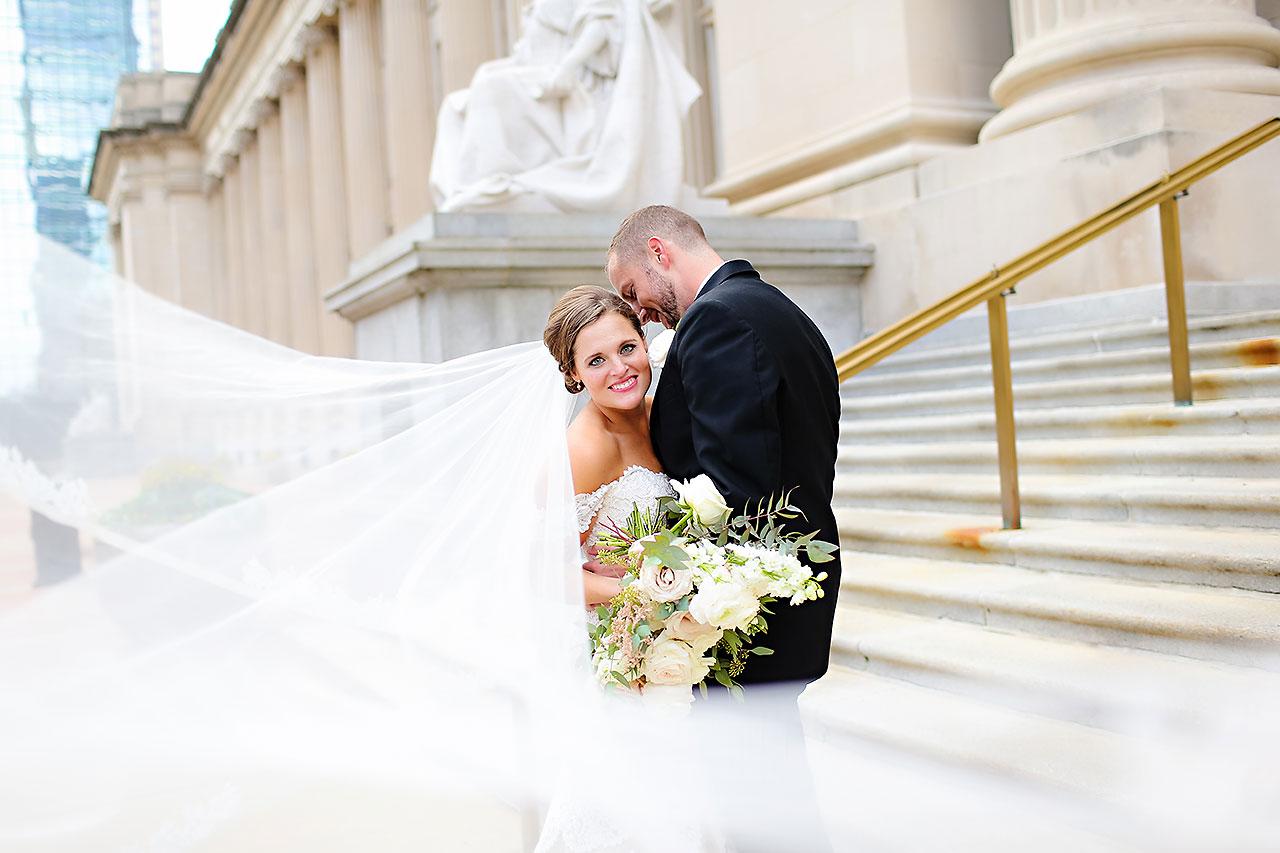 Erika Scott Regions Tower Indianapolis Wedding 158