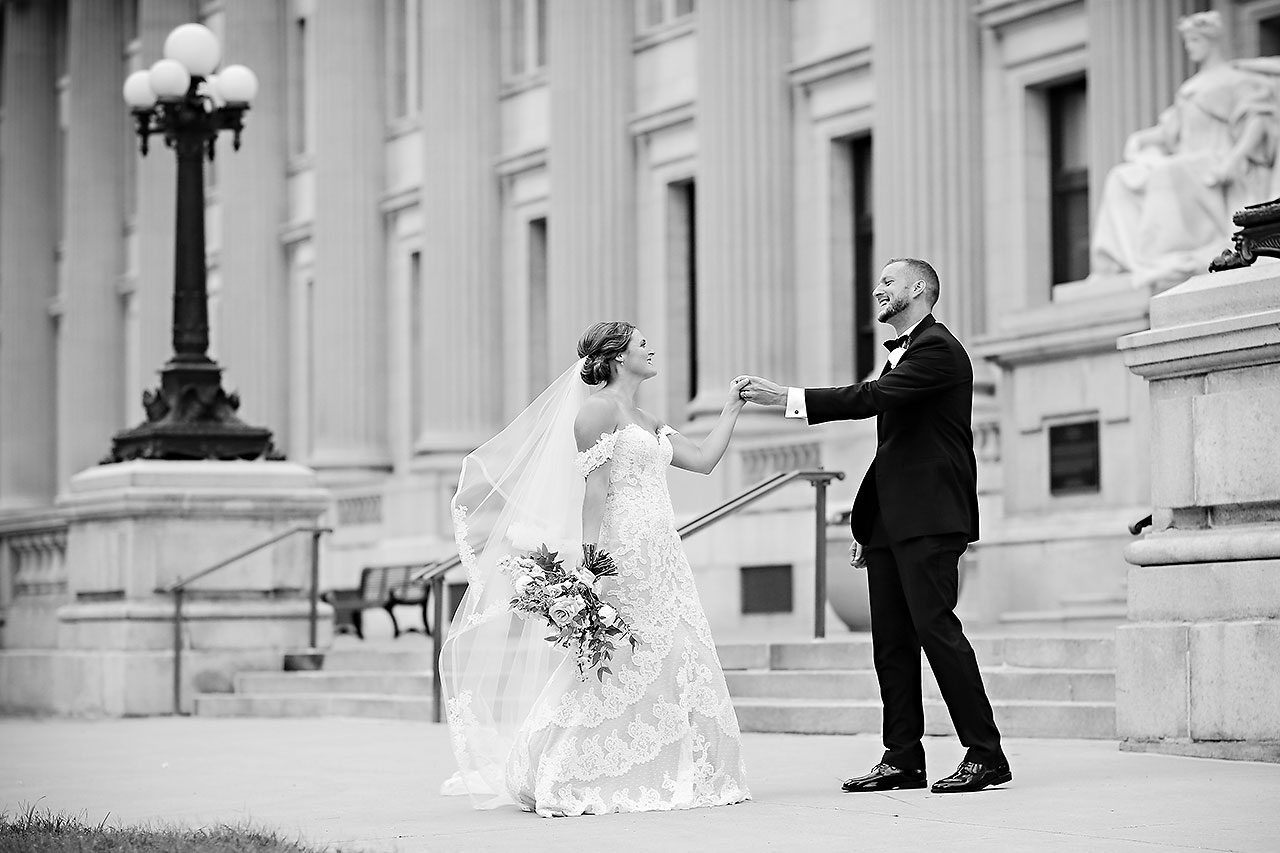 Erika Scott Regions Tower Indianapolis Wedding 159