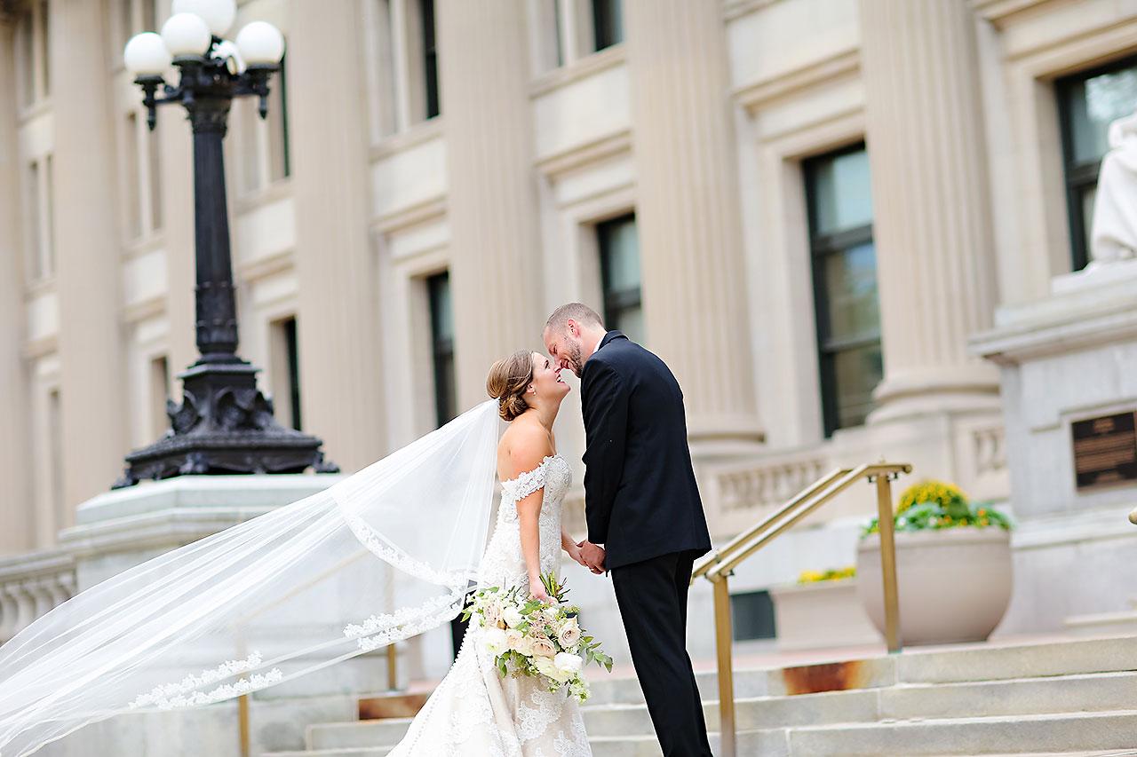 Erika Scott Regions Tower Indianapolis Wedding 156