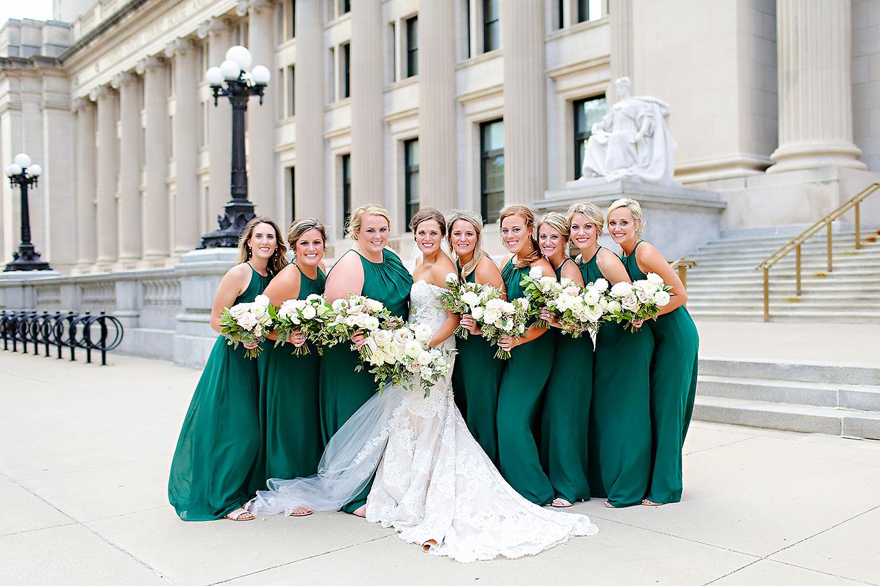 Erika Scott Regions Tower Indianapolis Wedding 157