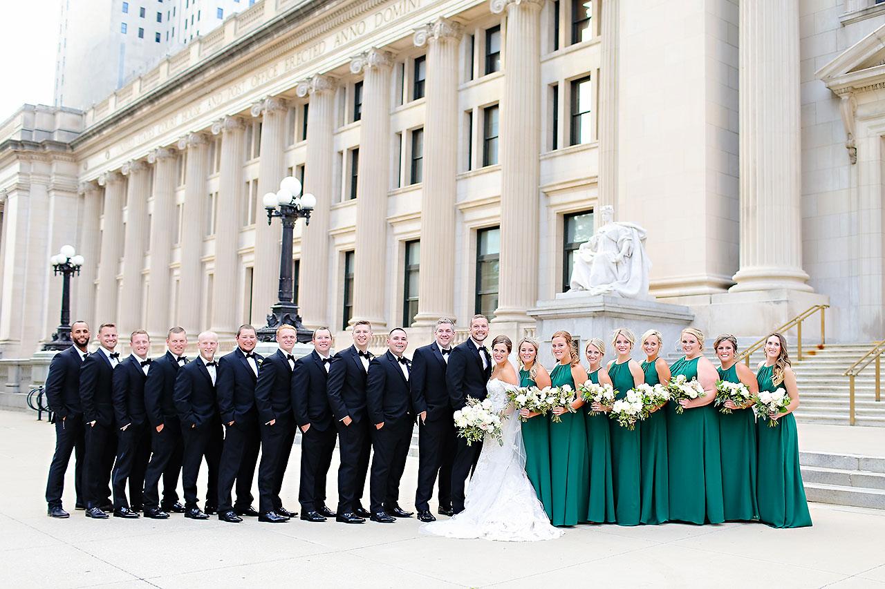 Erika Scott Regions Tower Indianapolis Wedding 155