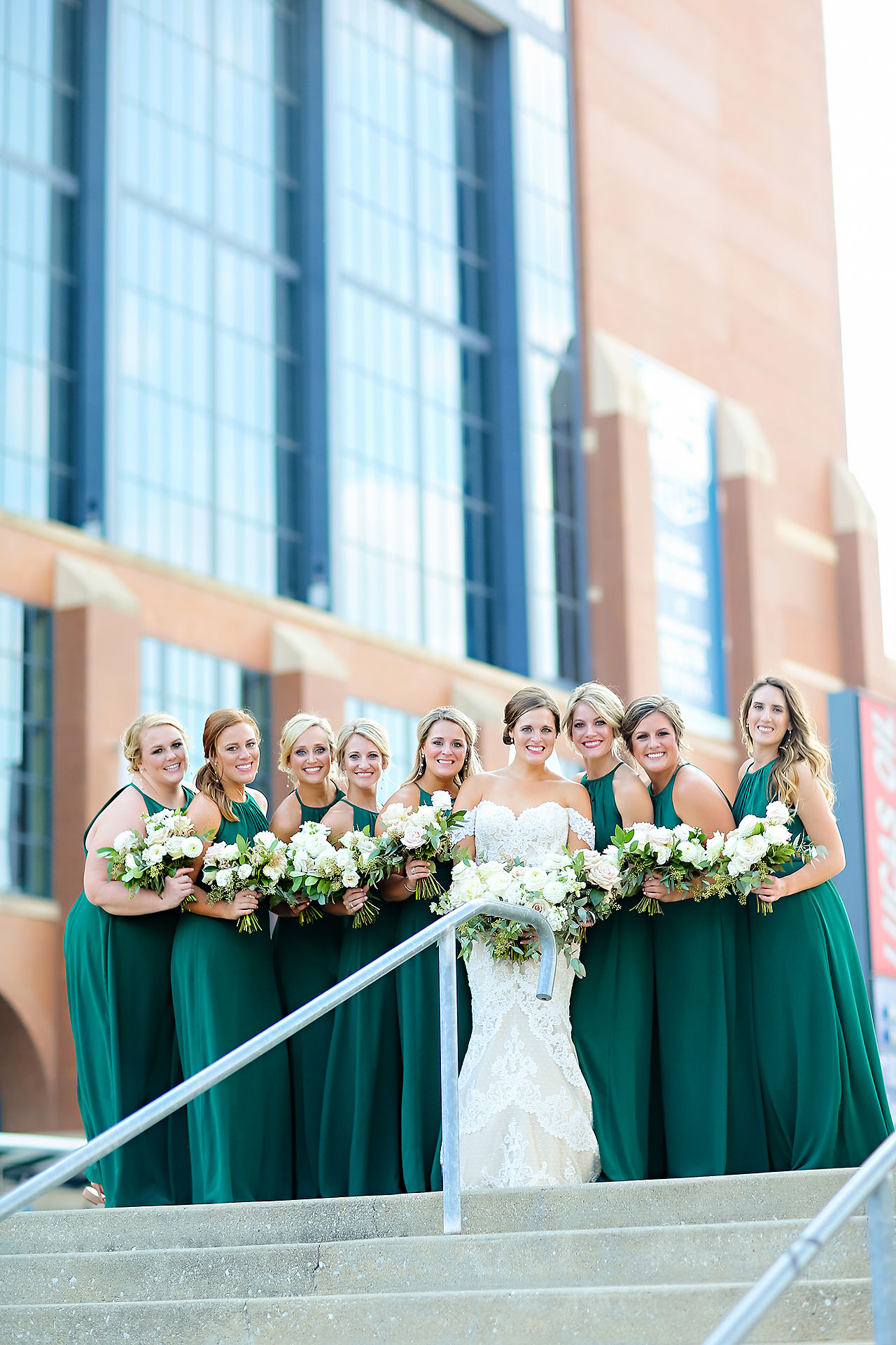 Erika Scott Regions Tower Indianapolis Wedding 150