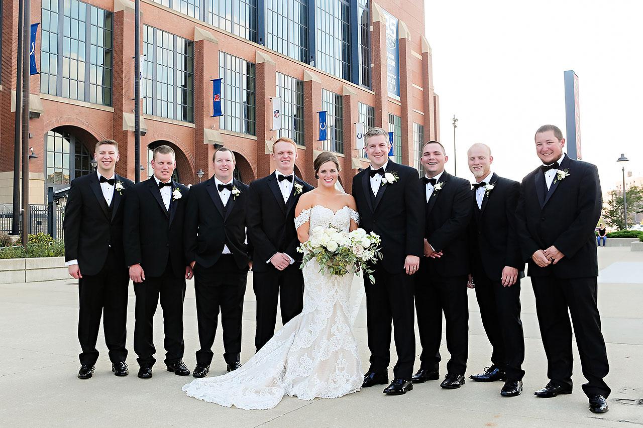 Erika Scott Regions Tower Indianapolis Wedding 147