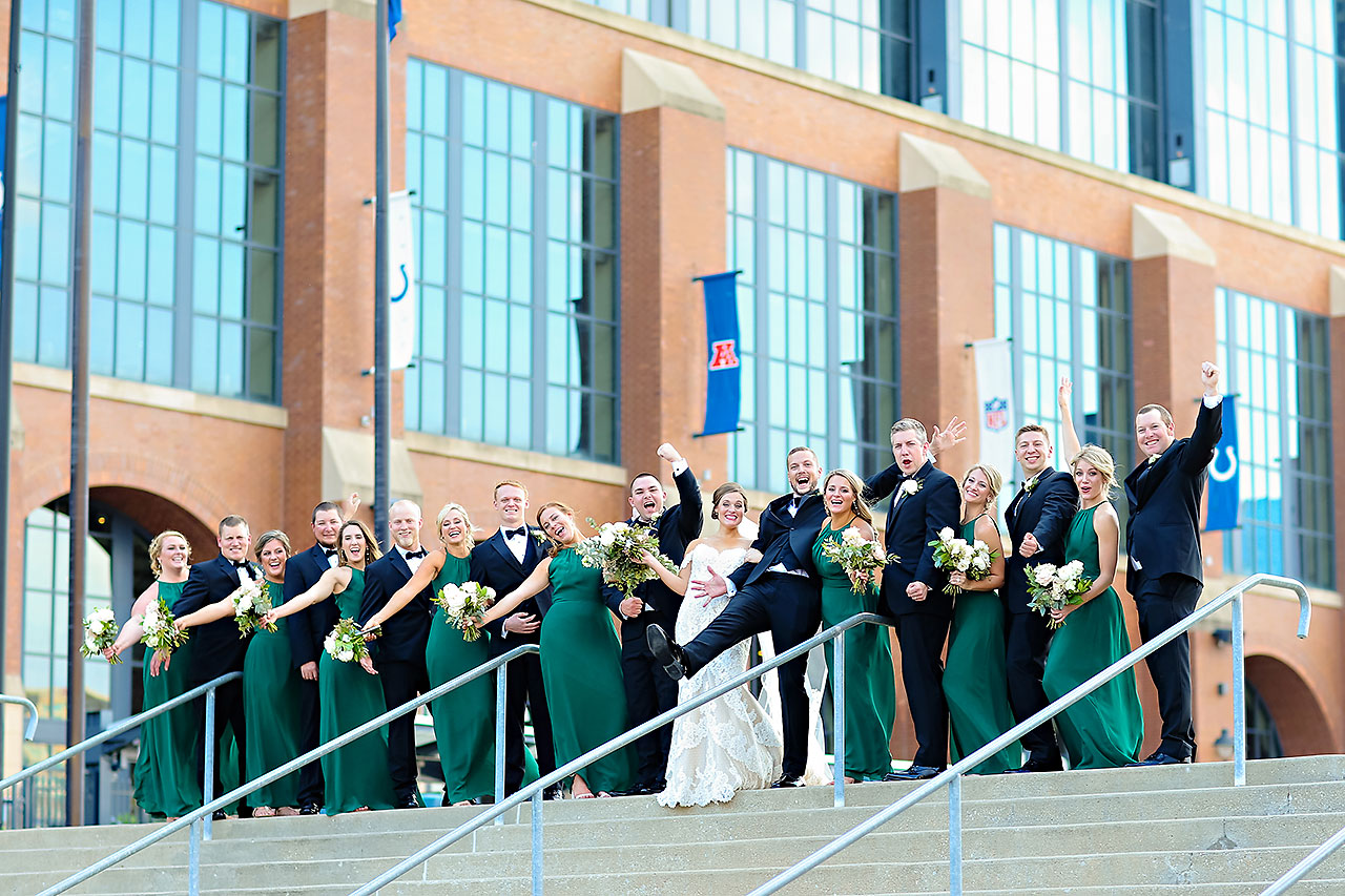 Erika Scott Regions Tower Indianapolis Wedding 134