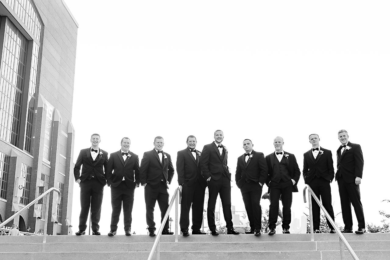 Erika Scott Regions Tower Indianapolis Wedding 132